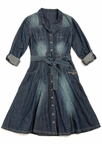 Ginger mary denim dresses