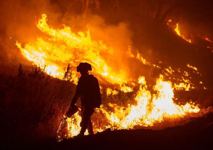 Un muerto y 25 hectáreas arrasadas por incendios en el Norte de California   LVV