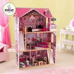 Kidkraft domček pre bábiky Amelia (dve schodiská)