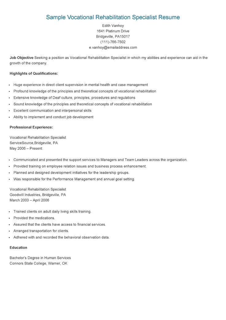 235 best resame images on Pinterest Resume, Html and Website - training specialist resume