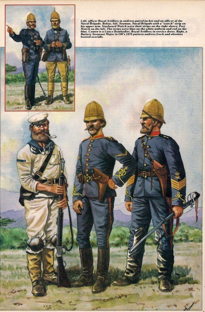 Royal Artillery & Royal Navy 1879