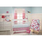 Found it at Wayfair - Tickled Pink 3 Piece Crib Bedding Set