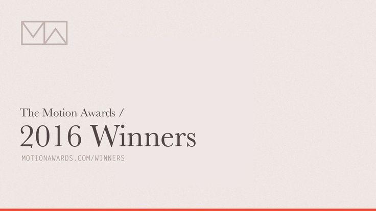 The Motion Awards: 2016 Winners http://motionographer.com/2017/04/28/the-motion-awards-2016-winners/?utm_campaign=coschedule&utm_source=pinterest&utm_medium=Justin&utm_content=The%20Motion%20Awards%3A%202016%20Winners