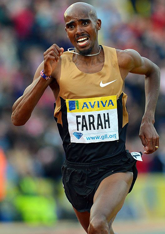 Mo Farah - 5K/10K double at Olympics and World Championships plus a remarkable 3:28 for 1500m
