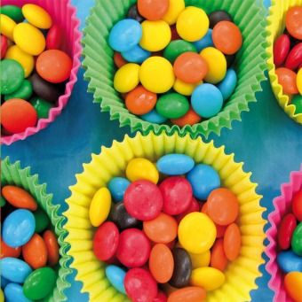 Colorful Candy in Cupcake Paper | @FairMail - Fair Trade Cards - Cards - FMC024