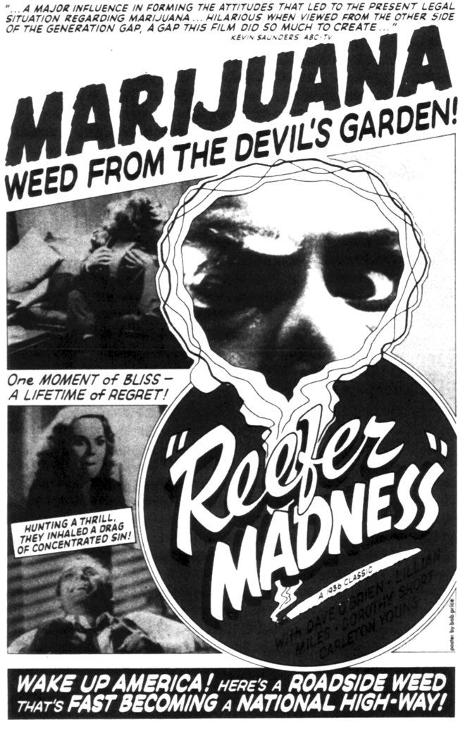 This movie was classic; smoke weed and jump out a window? Naturally.