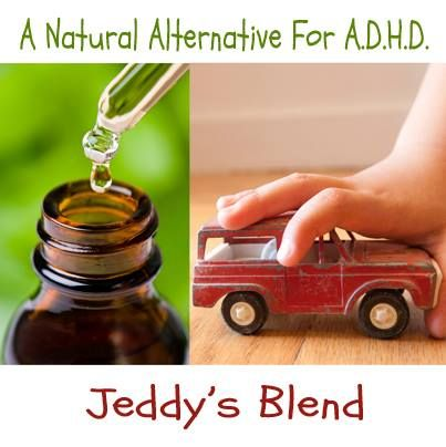 """Jeddy's Blend Testimonial....A Natural Alternative for ADHD and more...  """"Dori, after just two applications my little one is so much calmer. she is actually playing by herself without screaming at me to play with her. this morning she woke up a lot easier and in a great mood. Thank you.""""  - F"""
