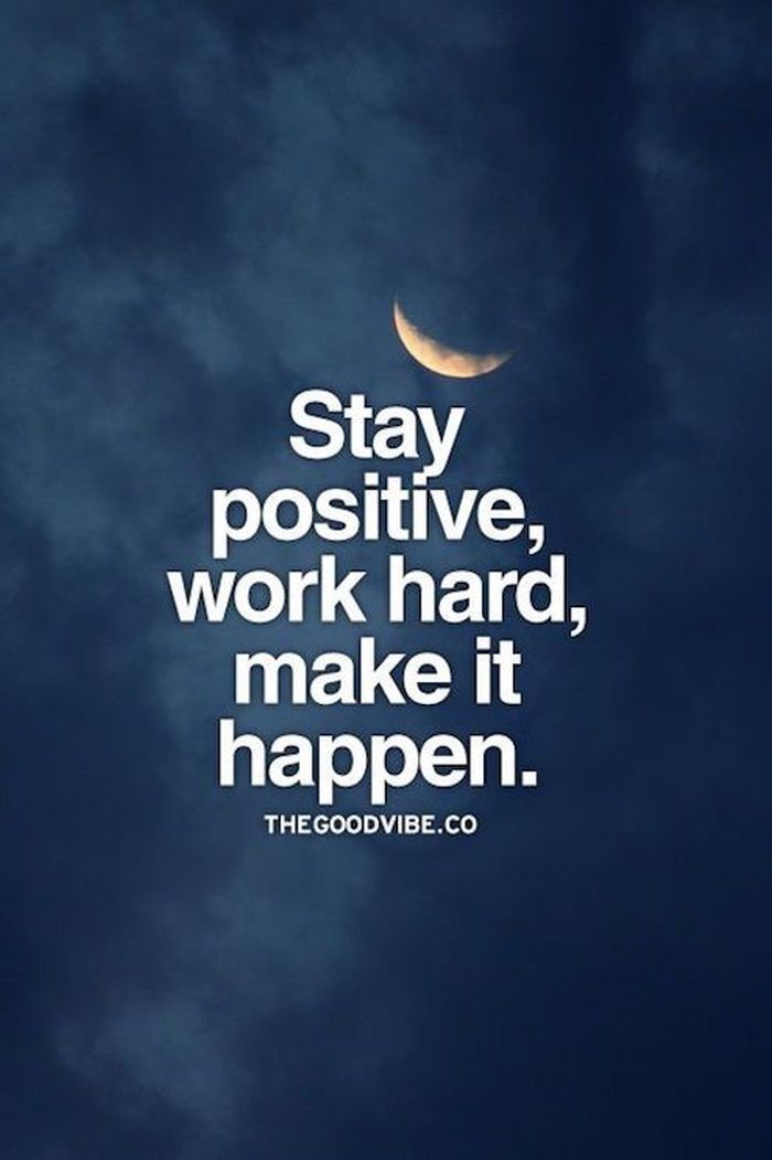 Positive Thought Day Work