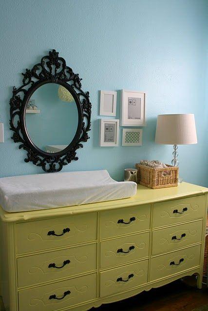 Decorar la habitaci n del beb con espejos ambientes for Espejo retrovisor ninos