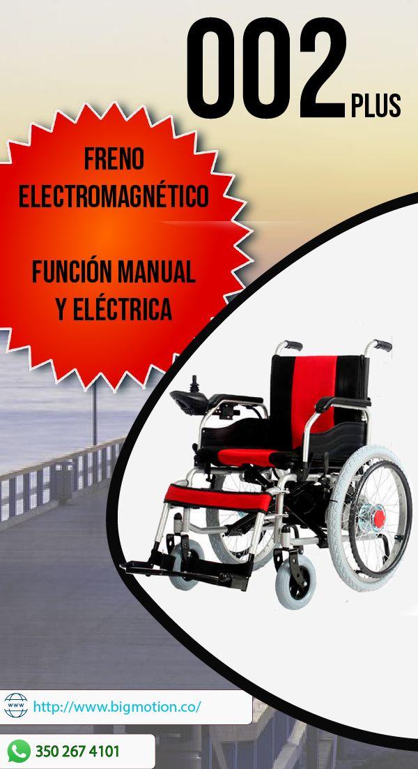 002 Plus Función Manual Y Eléctrica Con Freno Electromagnético últimas Unidades Comunícate Con Noso Ruedas Eléctricas Silla De Ruedas Camas Hospitalarias