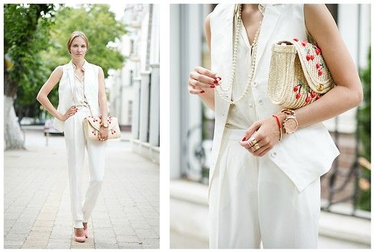 Zarina Suit, H&M Rings, Centro Bag, New Look Shoes
