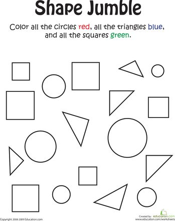 34 best images about Kindergarten - Shapes on Pinterest ...