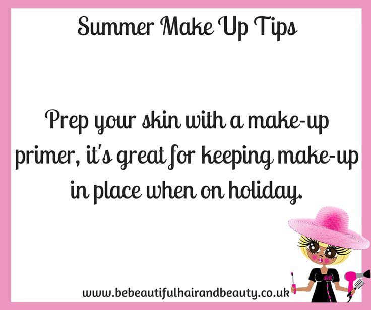 Summer Make-Up Tip #8