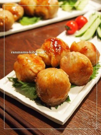 豚肉で簡単**肉巻きおにぎり。 by おがわひろこさん | レシピブログ ...