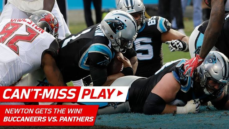 Cam Newton Gets the Win on Amazing TD Drive vs. Tampa Bay!   Can't-Miss Play   NFL Wk 16 - NFL News Videos