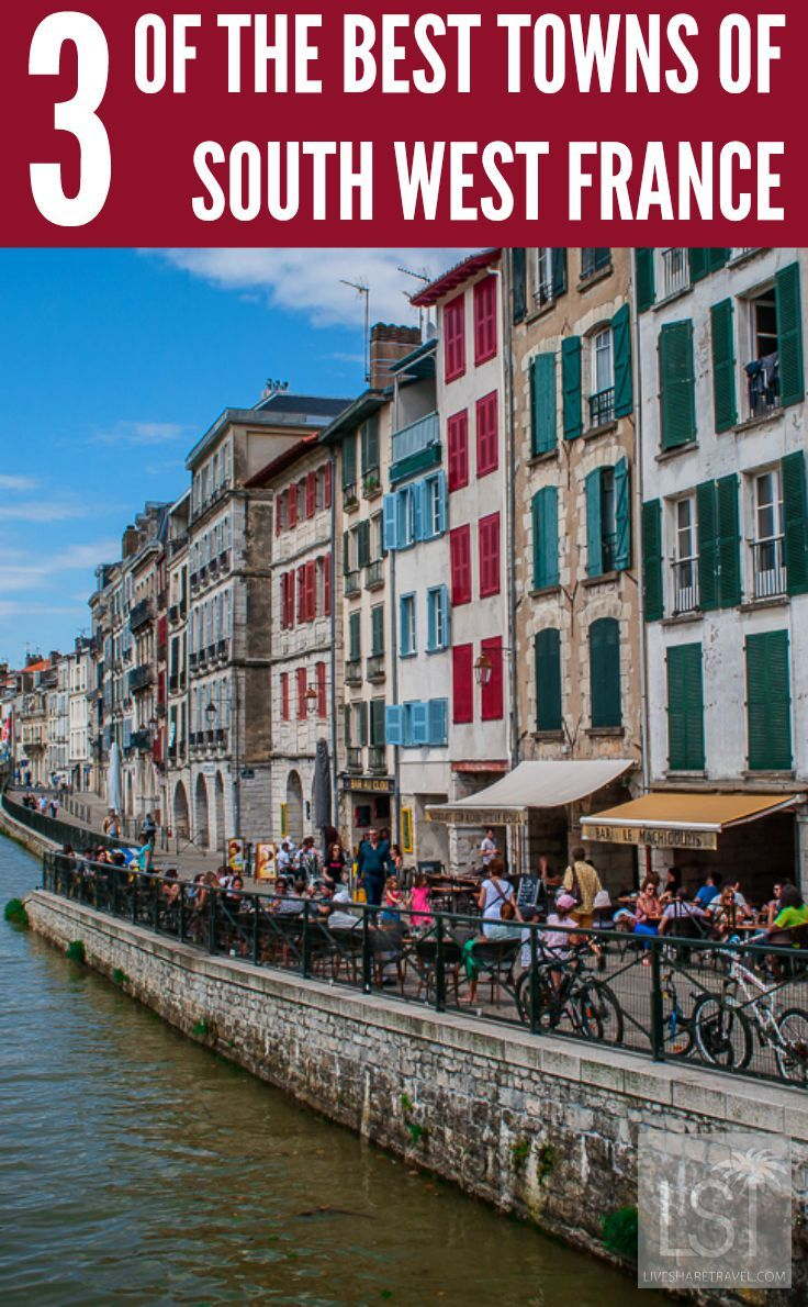 Three of the best towns of south west France. We travel to the coastal Aquitaine region of France where we discover history, mediaeval architecture, great food and wine, culture, local life, and brilliant beaches in Bayonne, Anglet and Biarritz.