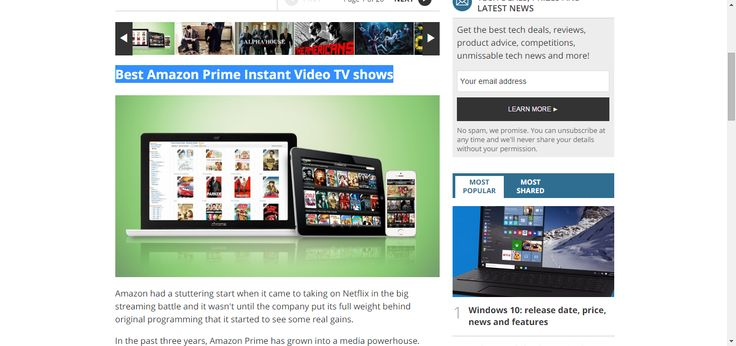Best Amazon Prime Instant Video TV shows: 25 essential Amazon Prime TV series | TechRadar