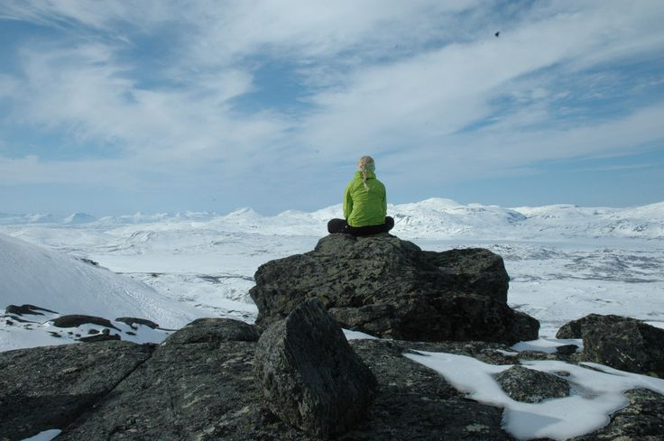 Meditation station.