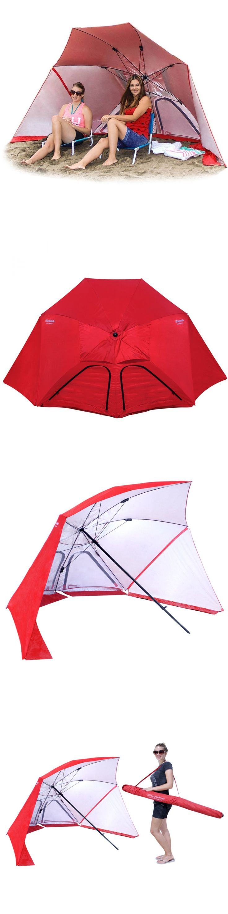 Canopies and Shelters 179011: Easygo Brella Umbrella Sun Rain Wind Shelter Beach Easy Canopy Outdoor Camping -> BUY IT NOW ONLY: $44.32 on eBay!