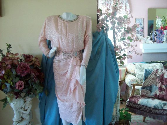 Pretty in Blush Pink A.J. Bari 1980's by CarriageHousBoutique