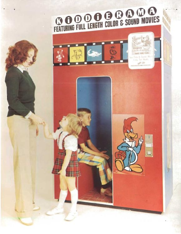 Kiddierama Cartoon Theatre -   These cartoon booths were the highlight of mall trips as a child!