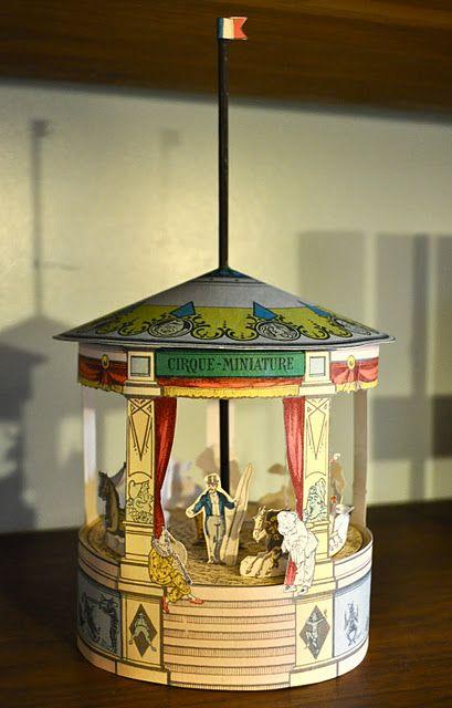 Victorian carousel - free download diy printable