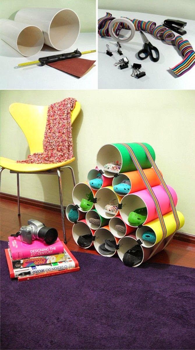 """5 prácticos y sencillos DIY o """"hágalo usted mismo"""" para organizar la casa"""