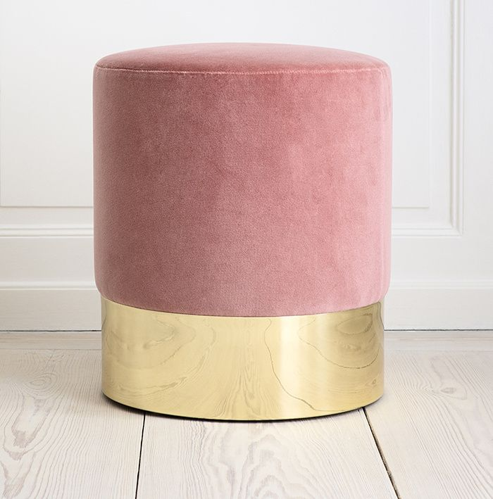 Tendance rose : tabouret Azucena (The Apartment)