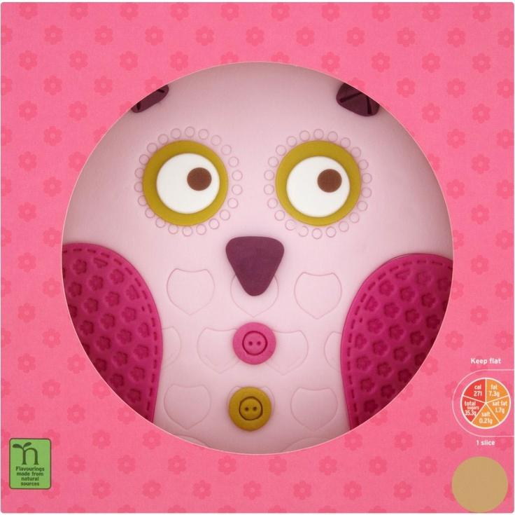 Cake Decorations In Sainsburys : Sainsburys owl cake it s party time Pinterest Owl ...