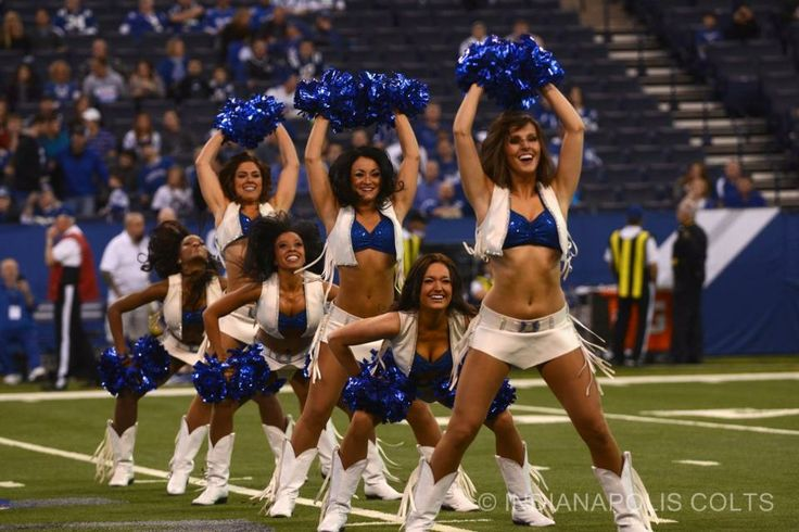 Colts Cheerleaders Game Day