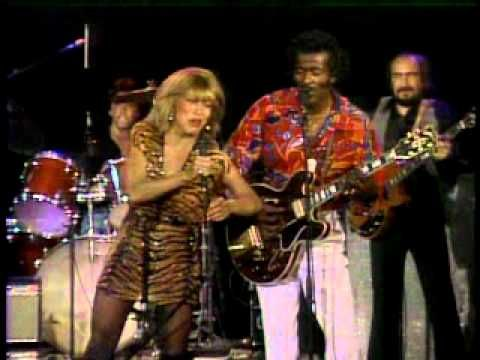 Tina Turner & Chuck Berry - Rock n roll music  Chuck & Tina perform their signature moves.