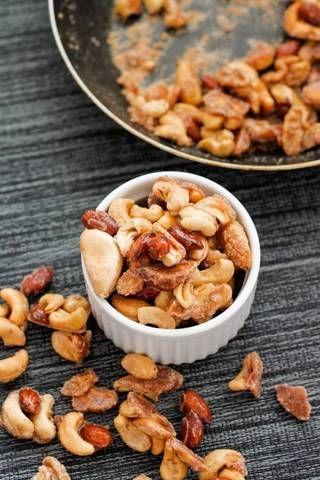depois da escola idéias lanche caramelizado receita Nuts
