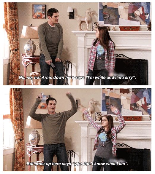 This episode is on--and this just made me seriously laugh!  Dance moves by Phil Dunphy