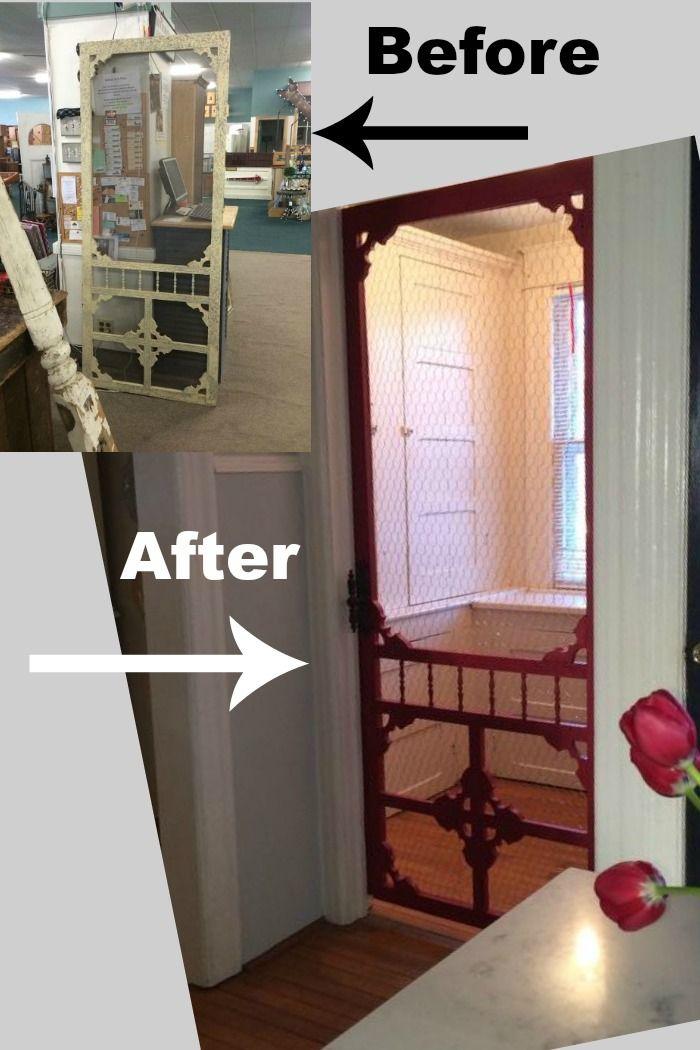 212 best curb appeal images on pinterest decks for Indoor screen door
