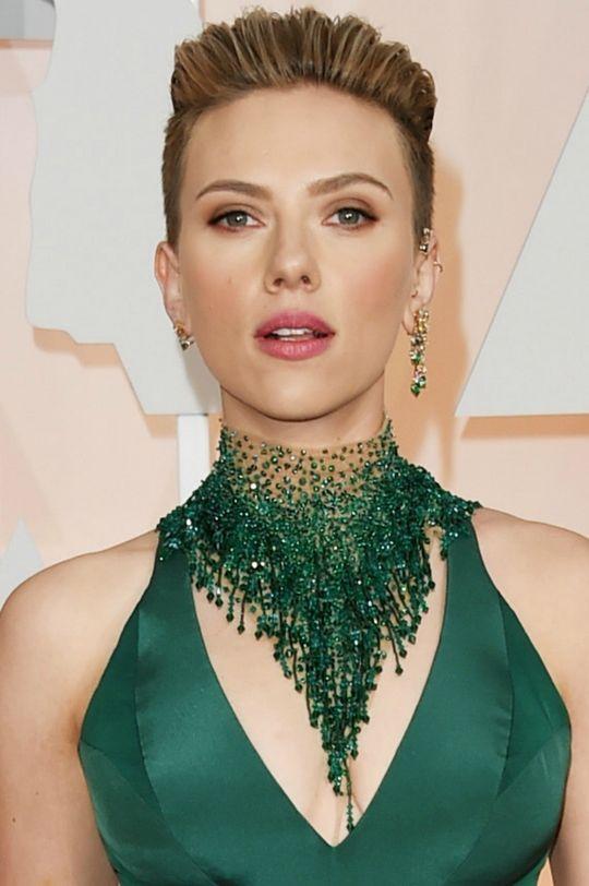 Scarlett Johansson at the Oscars
