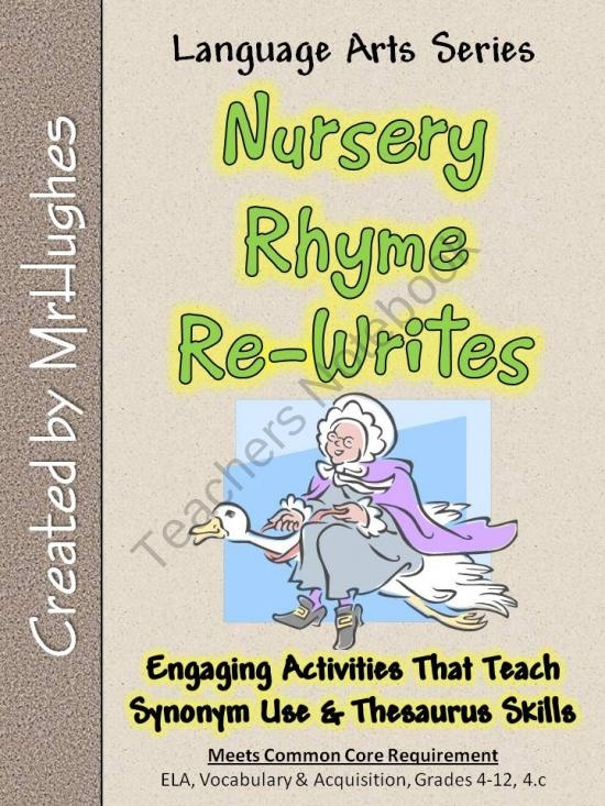 53 best synonyms images on pinterest school synonyms and antonyms nursery rhyme re writes synonym and thesaurus skills m4hsunfo