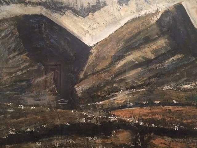 @BuzzAdventurer @Pizpas Mario Sironi, Mountain, 1943