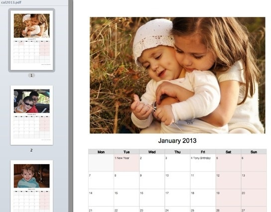 Best 25+ Photo calendar maker ideas on Pinterest Personalized - photo calendar