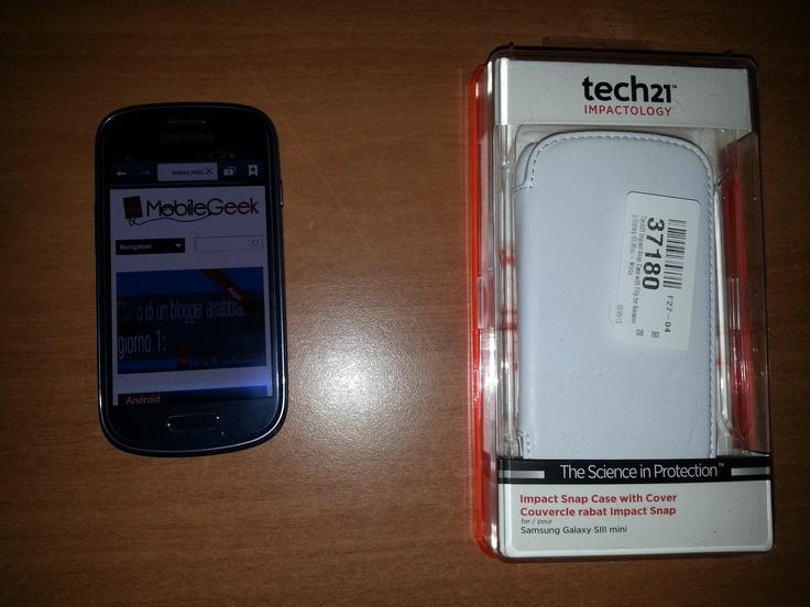 Recensione Custodia Impact Tech21 per Galaxy S3 mini