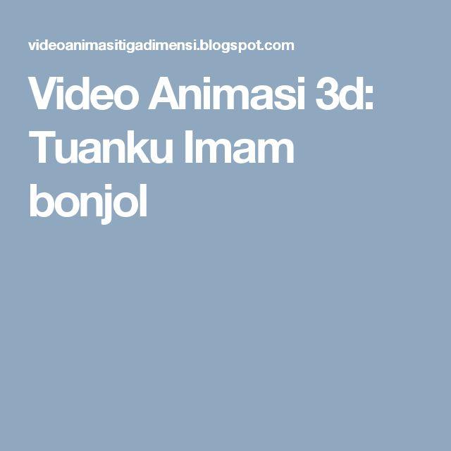 Video Animasi 3d: Tuanku Imam bonjol