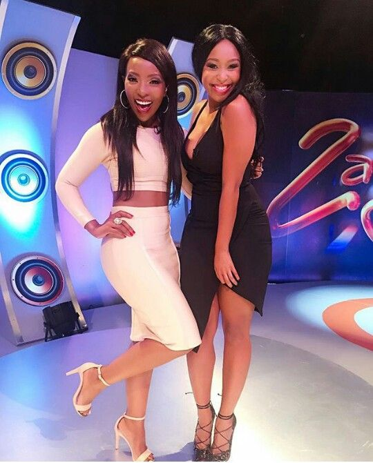 Pearl Modiadie & Minnie Dlamini