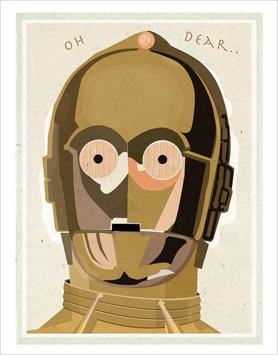 Star Wars - C3PO by aswegoarts