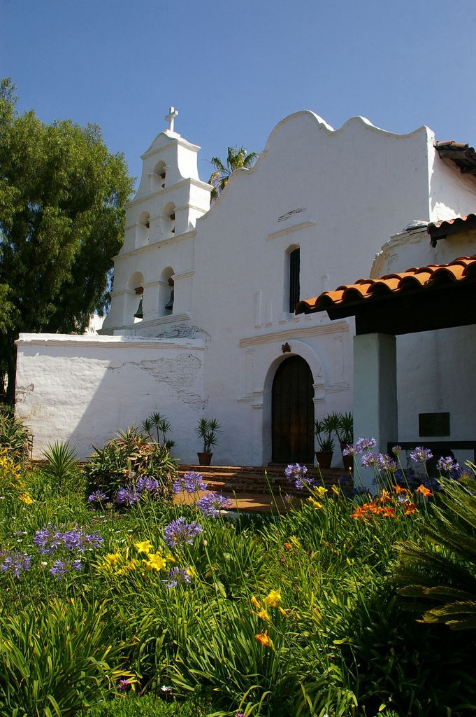 The Mission San Diego de Alcalá (1769) is a beautiful place to visit to learn about some history in San Diego.