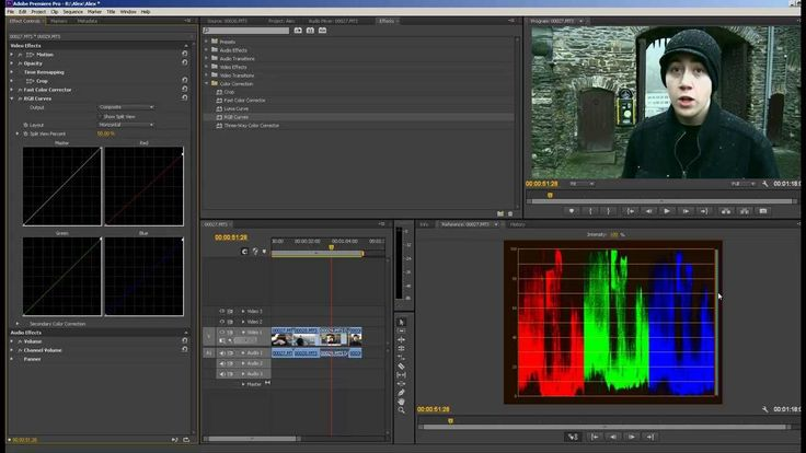 Color Correction Adobe Premiere Pro CS6... simple but effective ...I like the way he uses Luma to combine steps in color correction.