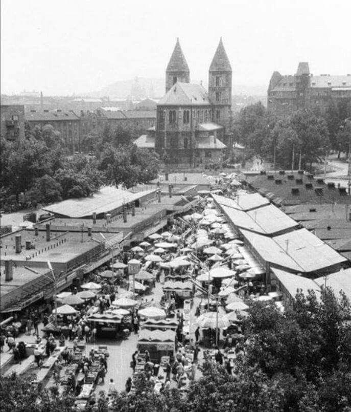 Lehel téri piac 1976
