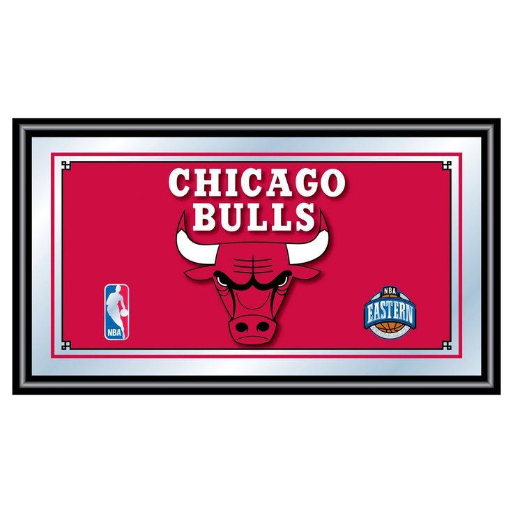 Chicago Bulls Team Logo Wall Mirror,