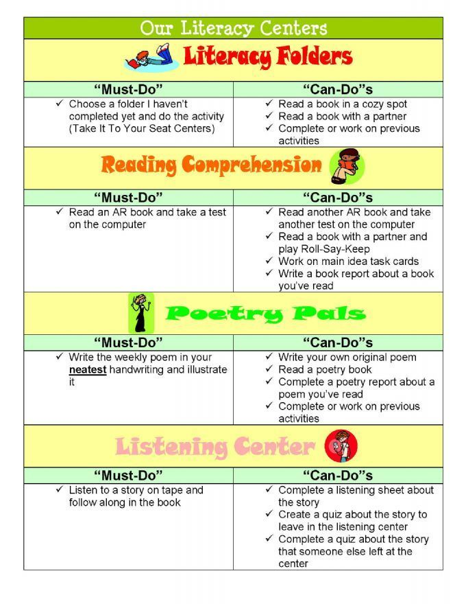 literacy centers-PRINT OFF