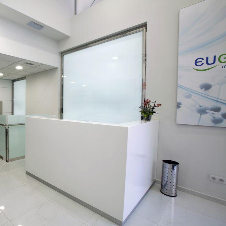 Reforma de las oficinas de Eugenomic en Barcelona. Eugenomic es un laboratorio de análisis dedicado a la farmacogenética y la medicina preventiva.