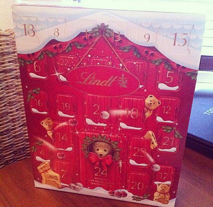Lindt advent calendar christmas want