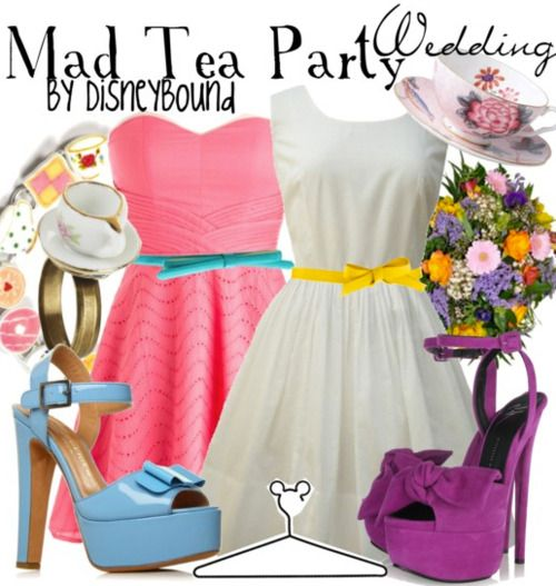 Alice in Wonderland: Teas Parties Shower, Parties Outfits, Bridesmaid Dresses, Bridal Shower Ideas, Alice In Wonderland, Mad Teas Parties, Shower Dresses, Bridal Parties, Shower Theme